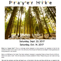 Prayer Hike
