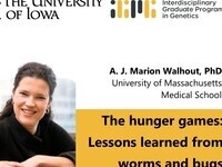 """Guest Speaker Public Talk """"The hunger games: Lessons learned from worms and bugs"""""""
