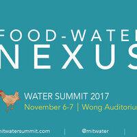 MIT Water Summit: Water & Food Nexus