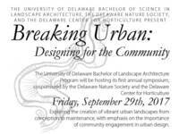 Breaking Urban: Designing for the Community