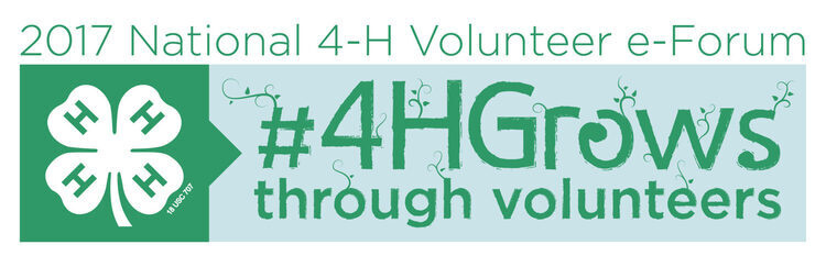 Helping 4-H'ers Grow in Life & Work; 4-H e-Forum session 3
