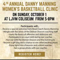 Danny Manning Women's Basketball Clinic