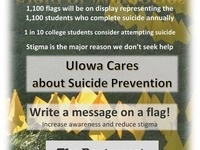 Field of Memories: Suicide Prevention Event