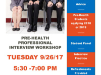 Pre-Health Professional Interview Workshop