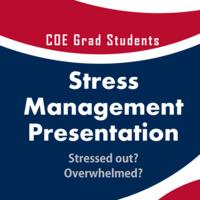 STRESS-MANAGEMENT Presentation