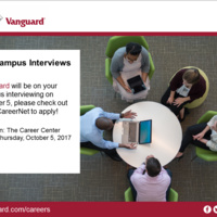 Vanguard  On Campus Interviews