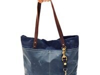 Learn To Sew: Oberlin Canvas + Leather Tote
