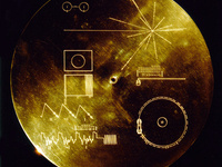 Voyager Golden Record Cover Library Exhibit