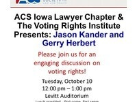 Voting Rights: A Discussion by Jason Kander and Gerry Herbert