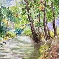 Painting the Landscape with Watercolor