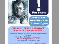 Annual Flu Clinic for Students, Faculty, and Staff