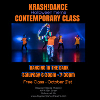 Halloween Contemporary Class with  KrasH!Dance