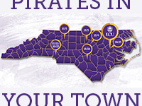 Pirates In Your Town Reception - Fayetteville