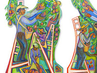 Betty LaDuke Art Opening