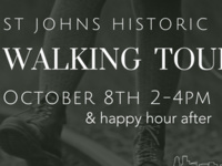 Historic St. Johns Walking Tour & Happy Hour