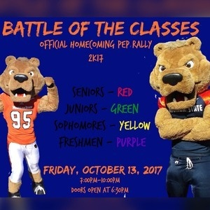 Battle of the Classes Homecoming Pep Rally