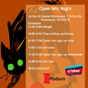 Friday the 13th Open Mic!