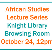 African Studies Lecture Series - Manuel Rui and the Postcolonial Angola that Is Not