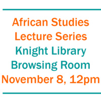 African Studies Lecture Series - Mistreated: the Political Aftermath of HIV Treatment Expansion in Lesotho