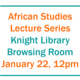 African Studies Lecture Series - Daily Traffic with the Frenchmen: Merchant Colonialism and West African Sovereignty in the Sixteenth-Century