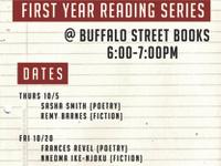 Fall 2017 First Year MFA Reading Series