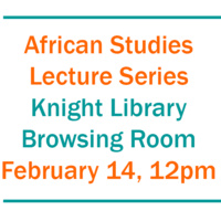 African Studies Lecture Series - Teaching and researching on Mongo Beti