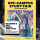 Off-Campus Study Fair