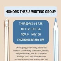Honors Thesis Writing Group