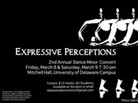 Expressive Perceptions: UD's 2nd Annual Dance Minor Concert