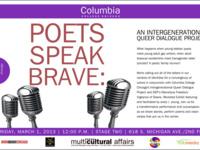 Poets Speak Brave