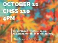 CHSS Colloquium Series Featuring Dr. Ben Mitchell-Yellin
