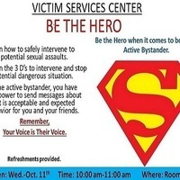 Victim Services Center-Be the Hero
