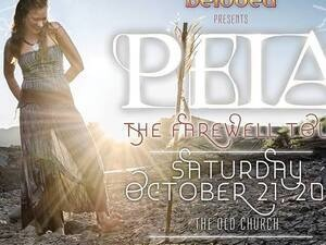 An Evening With Peia: The Farewell Tour