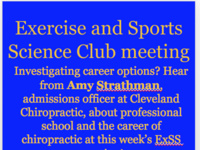 Exercise Sports Science Club