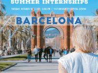 IES Summer Internships Info Session - Barcelona