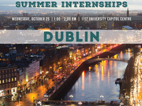 IES Summer Internships Info Session - Dublin