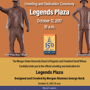 Legends Plaza Unveiling & Dedication Ceremony