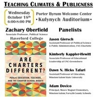 Teaching Climates and Publicness
