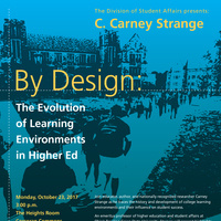 By Design: The Evolution of Learning Environments in Higher Ed