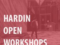 Hardin Open Workshops - Data Management Planning for Researchers