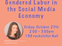 Gendered Labor in the Social Media Economy