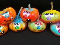 Pumpkin Painting with House Council