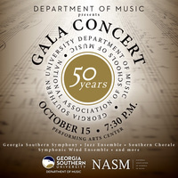 Department of Music presents a NASM 50 Gala