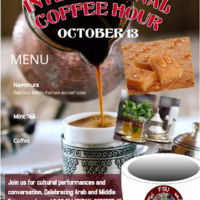 International Coffee Hour (Arab and Middle Eastern Cultures)