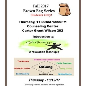 Brown Bag Series - QiGong