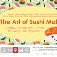 World Fest presents Third Tuesday: The Art of Sushi Making