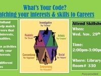 What's Your Code? Matching your interests and skills to careers