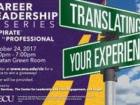 Career Leadership Series - Translating Your Experience