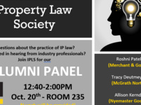 Intellectual Property Law Society Alumni Panel