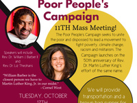 Rev. Dr. William Barber Speaking - Poor People's Campaign in Binghamton